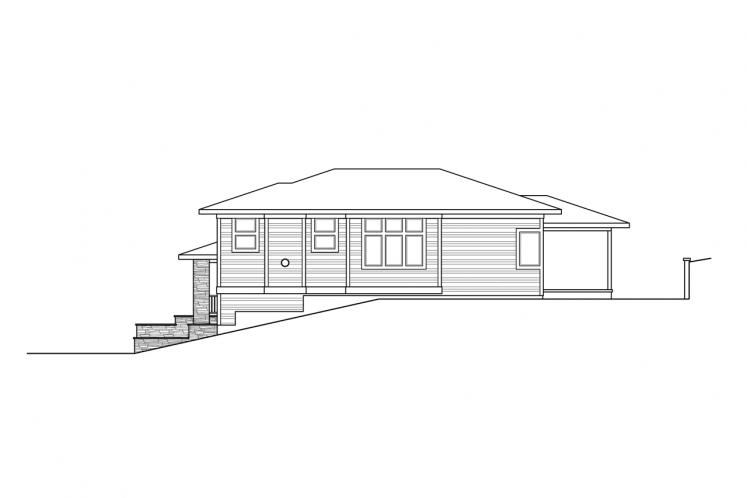 Contemporary House Plan - Alpenglow 85756 - Right Exterior