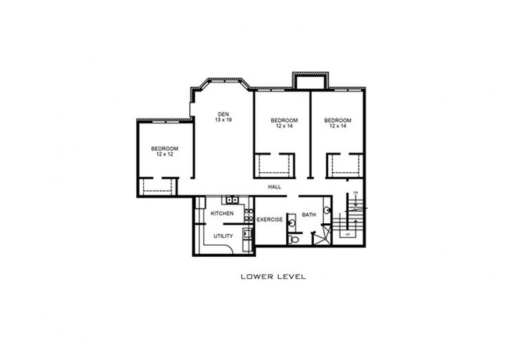 Farmhouse House Plan - Harper 86030 - Basement Floor Plan