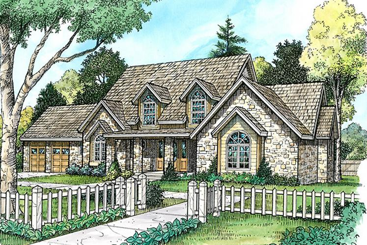 Farmhouse House Plan - Harper 86030 - Front Exterior