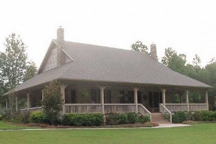 Country House Plan -  86088 - Front Exterior
