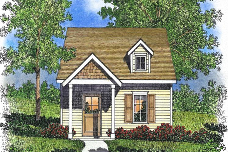 Cottage House Plan -  86156 - Front Exterior