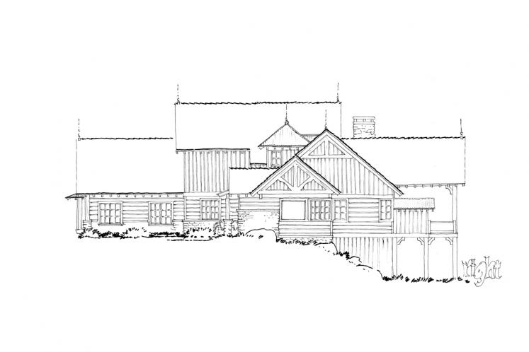 Traditional House Plan - Waterton 86200 - Right Exterior