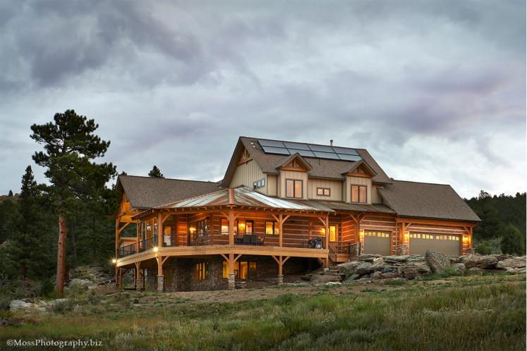 Lodge Style House Plan - Waterton 86200 - Rear Exterior