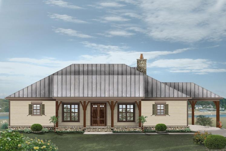 Craftsman House Plan -  86234 - Front Exterior