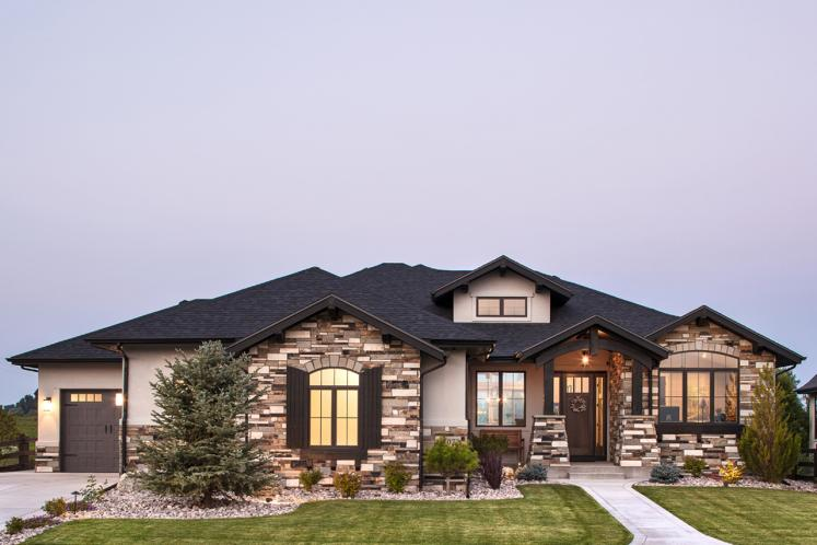 Ranch House Plan - Aspen Grove 86311 - Front Exterior