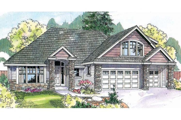 Country House Plan - Saddlebrook 86585 - Front Exterior