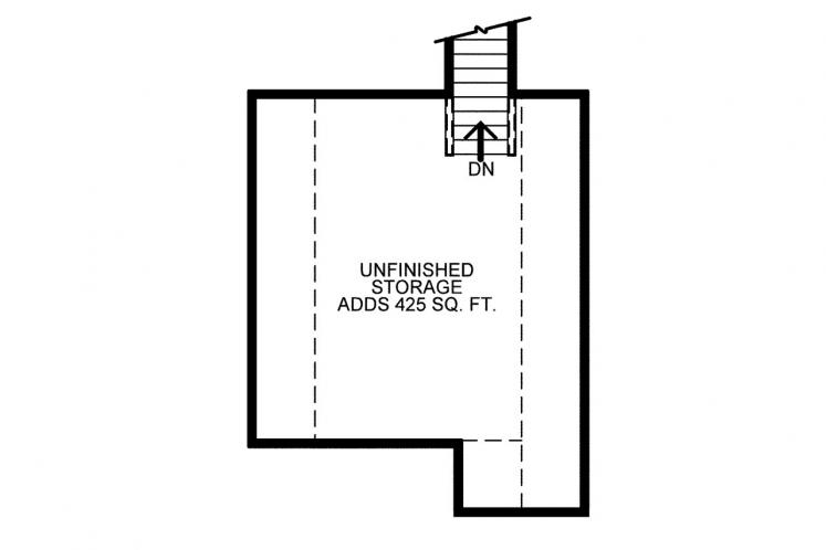 Country House Plan - Slater 86691 - 2nd Floor Plan