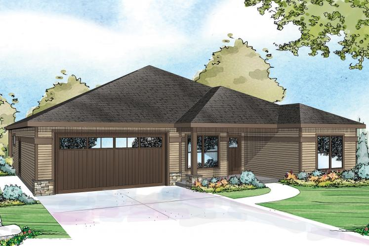 Country House Plan - Westfall 86694 - Front Exterior