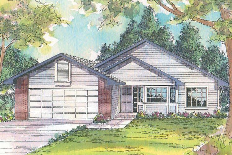 Traditional House Plan - Harney 86740 - Front Exterior