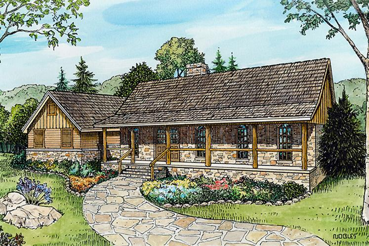 Farmhouse House Plan - Brodie 86756 - Front Exterior