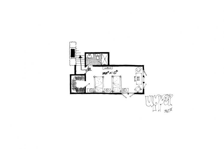 Country House Plan - Red Wing 87255 - 2nd Floor Plan