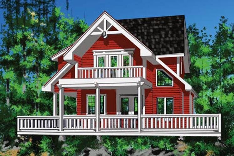 Cottage House Plan - Seamark 88053 - Front Exterior