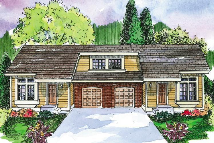 Traditional Multi-family Plan - Mooresville 88165