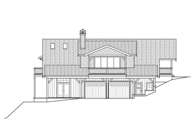 Country House Plan - Glencove 88182 - Front Exterior