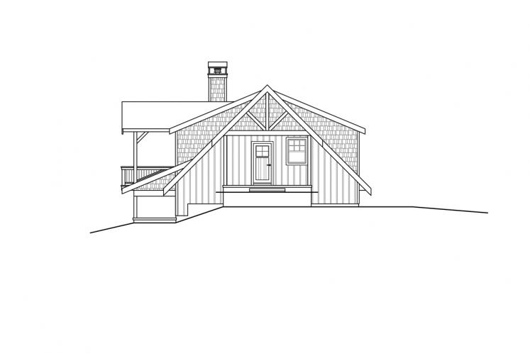 Country House Plan - Glencove 88182 - Right Exterior