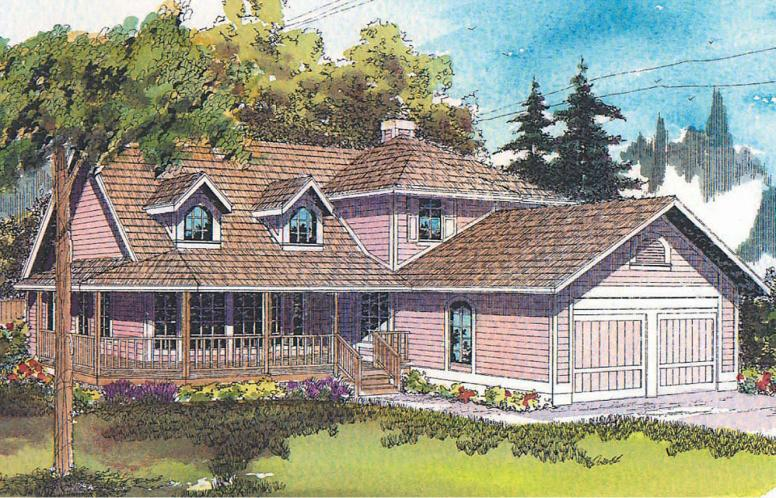 Country House Plan - Jasmine 88267 - Front Exterior