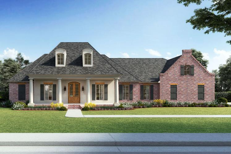 Southern House Plan - Natchitoches 88303 - Front Exterior