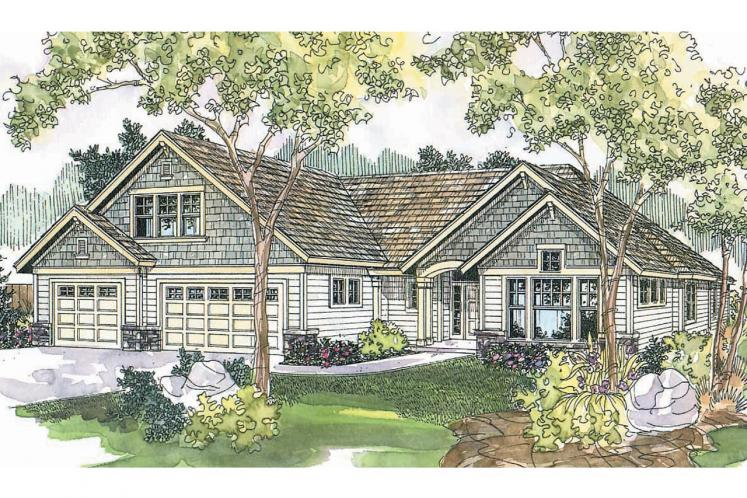 Craftsman House Plan - Cauldwell 88313 - Front Exterior