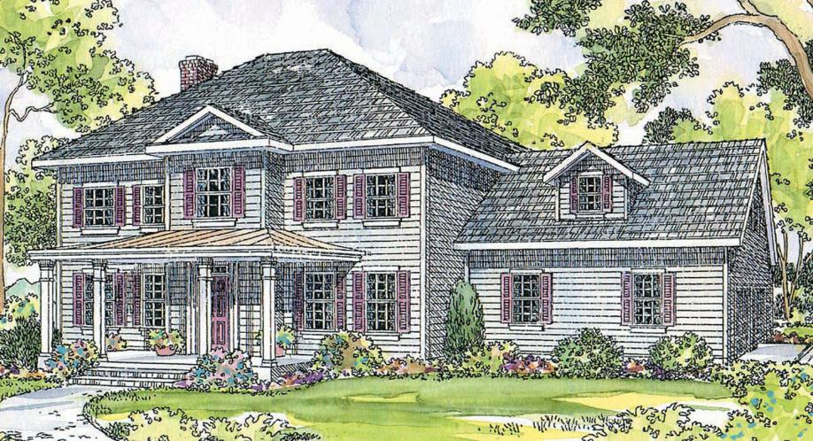 Country House Plan - Lorane 88395 - Front Exterior