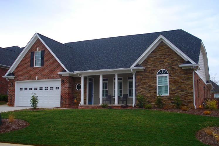 Traditional House Plan -  88468 - Front Exterior