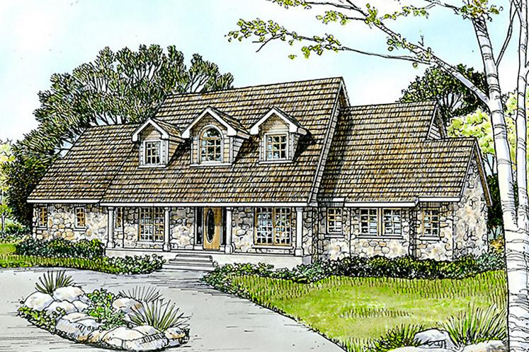Country House Plan - Leander 88530 - Front Exterior