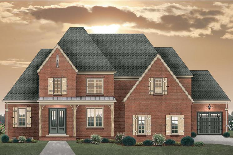 Classic House Plan -  88602 - Front Exterior