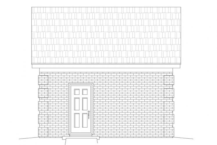 Traditional Garage Plan -  88949 - Right Exterior