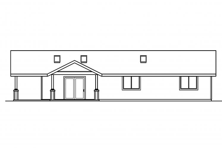 Cottage House Plan - Branell 89311 - Right Exterior