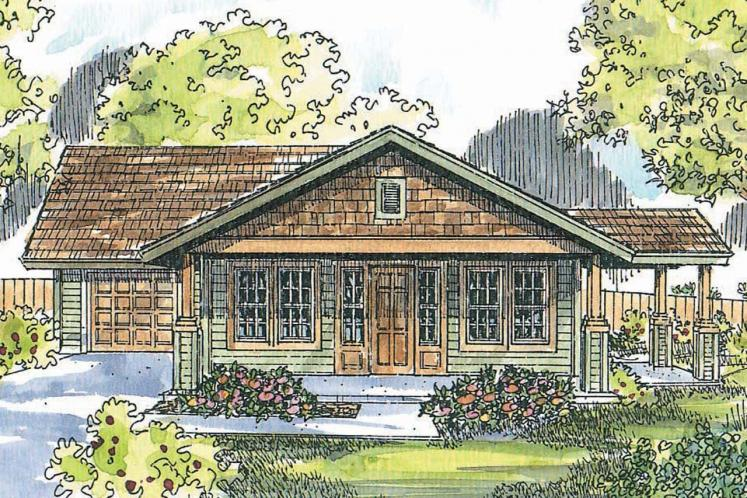 Cottage House Plan - Branell 89311 - Front Exterior