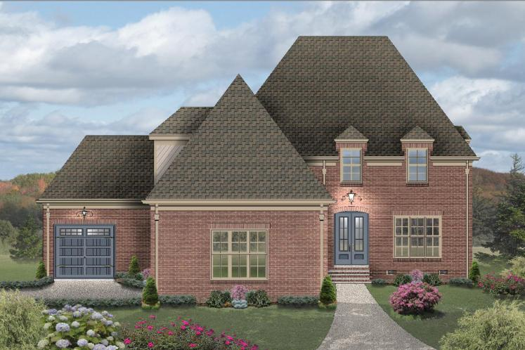 Southern House Plan -  89393 - Front Exterior
