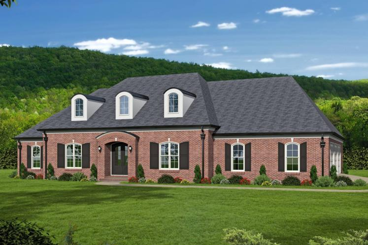 Classic House Plan -  89464 - Front Exterior