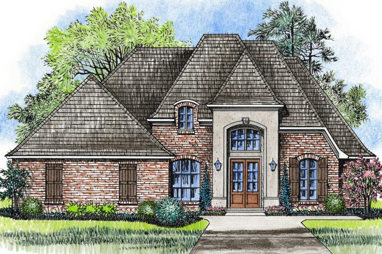 European House Plan - Lakeview 89581 - Front Exterior