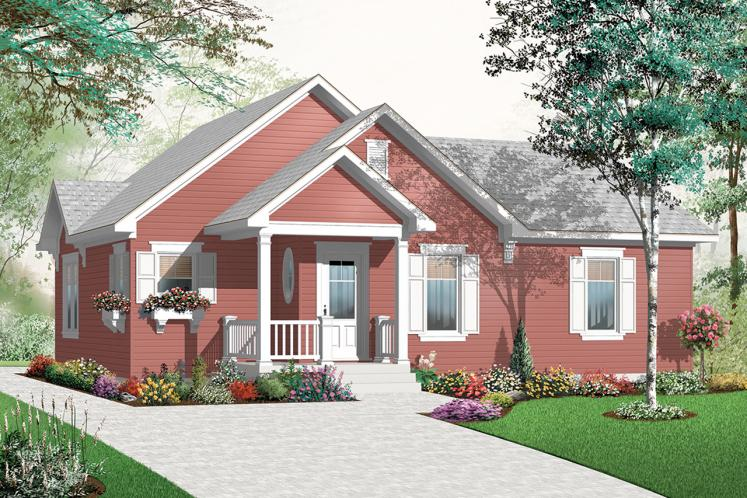 Country House Plan - Erindale 89856 - Front Exterior