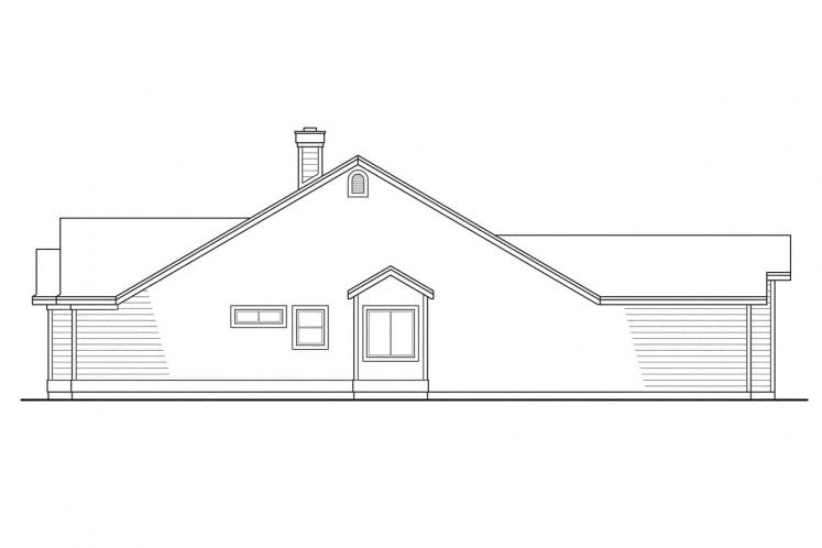 Country House Plan - Marysville 90373 - Right Exterior