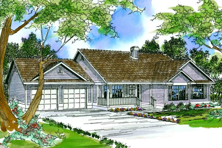 Country House Plan - Marysville 90373 - Front Exterior