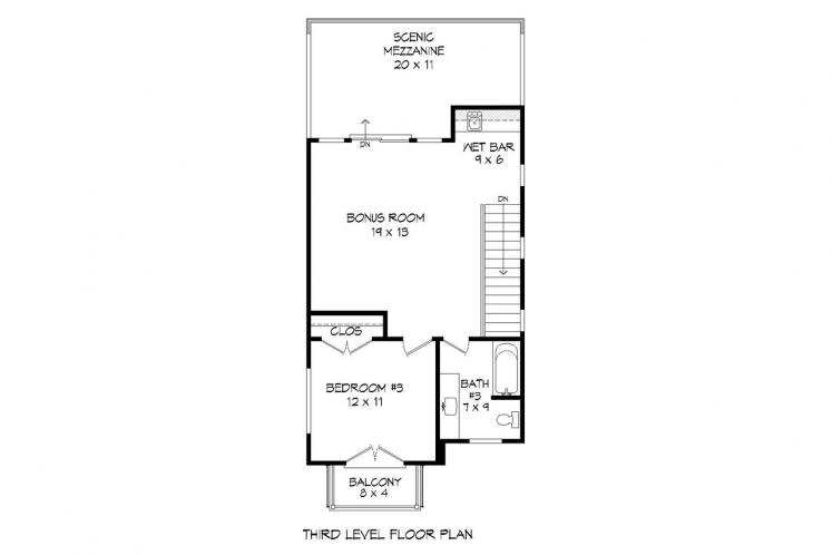 Contemporary House Plan - Shephard Deluxe 90734 - Other Floor Plan