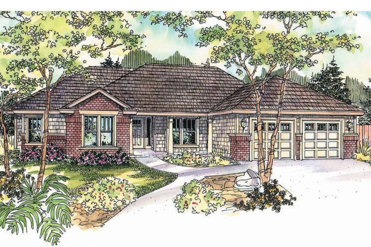 Contemporary House Plan - Beaufort 90768 - Front Exterior