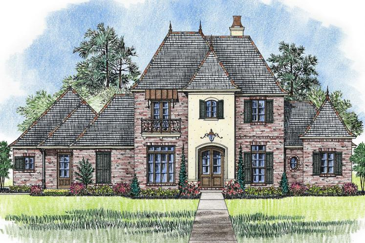 Classic House Plan - Orleans 90875 - Front Exterior