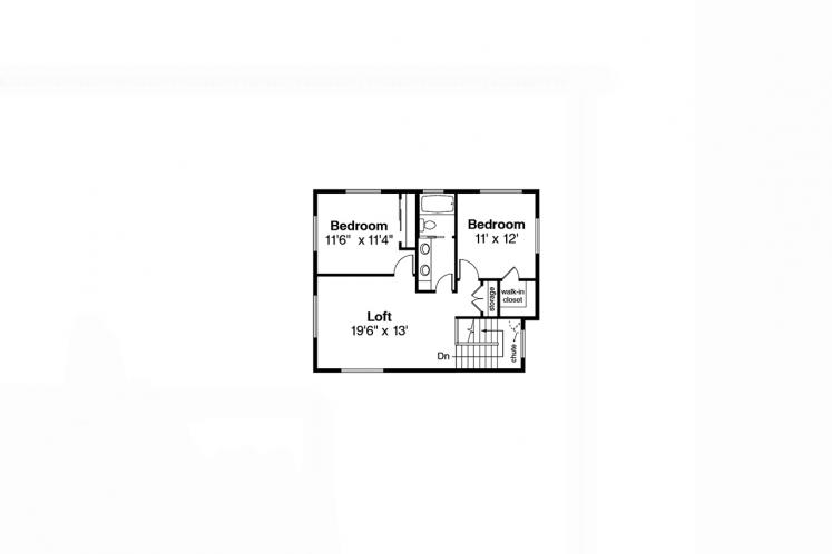Modern House Plan - Pinehurst 90934 - 2nd Floor Plan