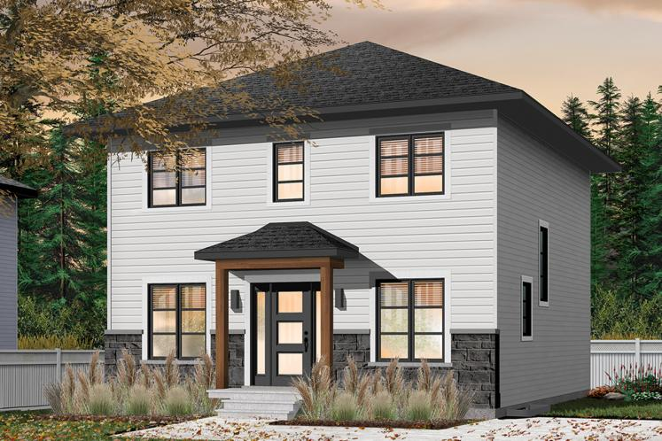 Country House Plan - Clancy 2 91061 - Front Exterior