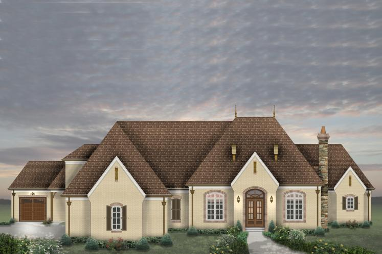 Classic House Plan -  91174 - Front Exterior