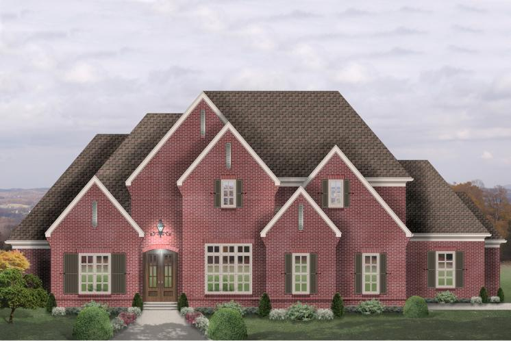 Classic House Plan -  91258 - Front Exterior