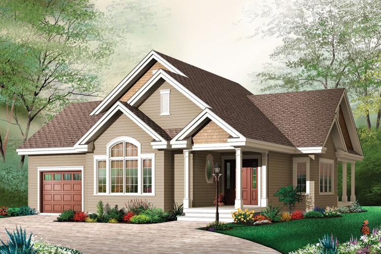 Country House Plan - Maitland 91316 - Front Exterior
