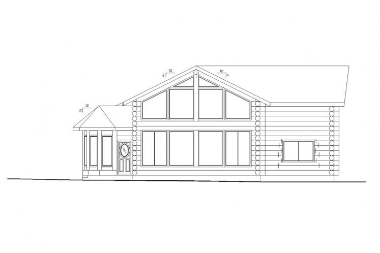 Cottage House Plan -  91484 - Right Exterior