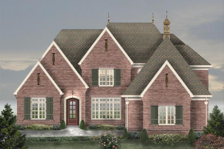 Classic House Plan -  91654 - Front Exterior