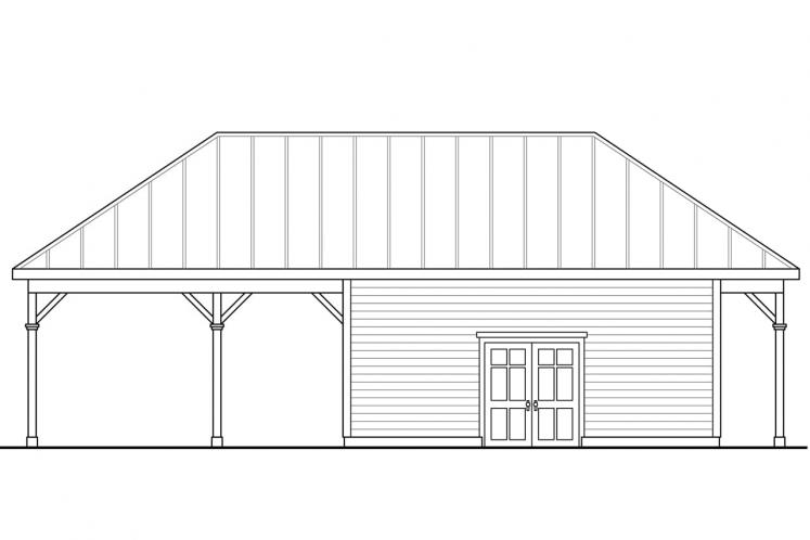 Cottage  - Shop 91802 - Right Exterior