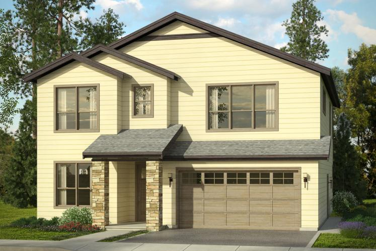 Traditional House Plan - Bridgeview 91820 - Front Exterior