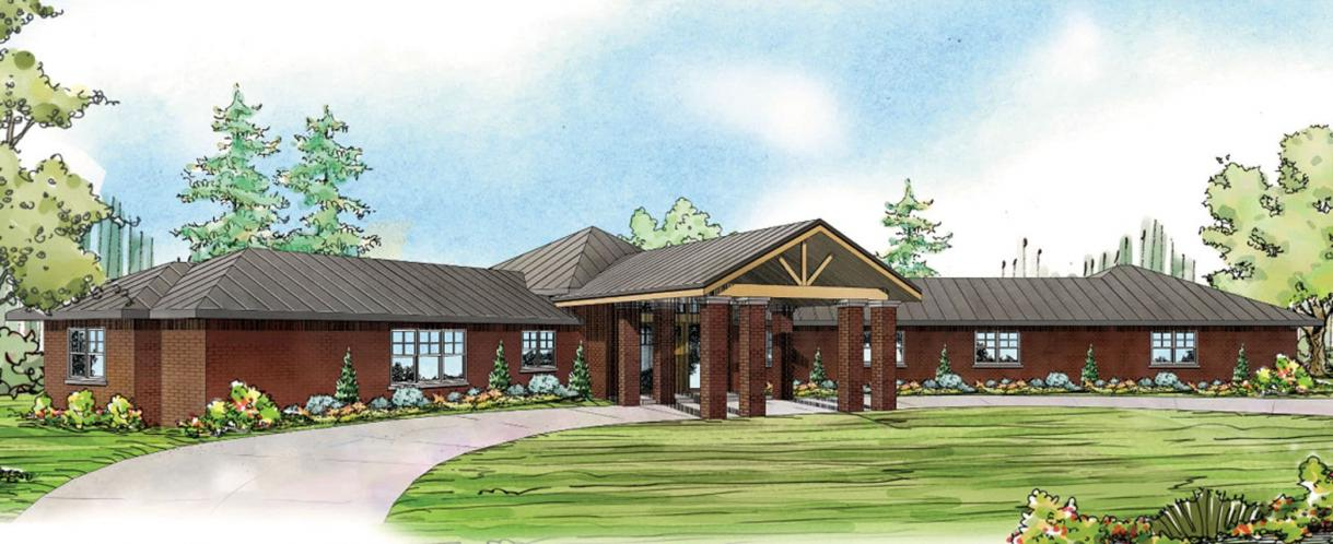 Contemporary House Plan - Georgetown 91907 - Front Exterior