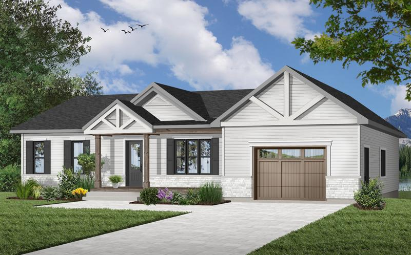 Country House Plan - Miranda 4 92151 - Front Exterior