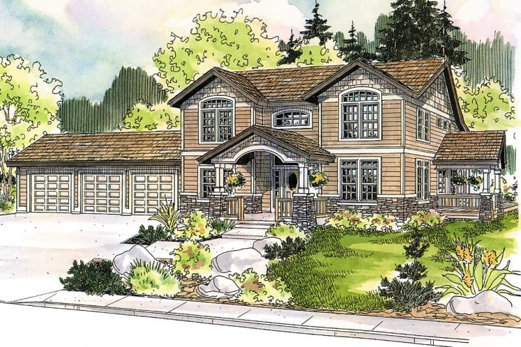 Country House Plan - Kendrick 92209 - Front Exterior